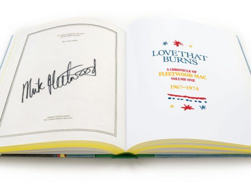 New limited edition book is set to become a collectors piece for Fleetwood Mac Fans