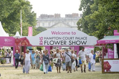 The Long Water Gate at RHS Hampton Court Flower