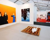 A gallery at Frieze London