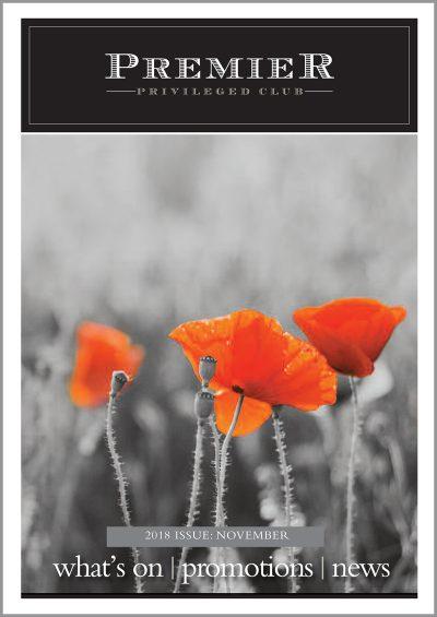 Premier's e-newsletter for November covers the Armistice Commemorations