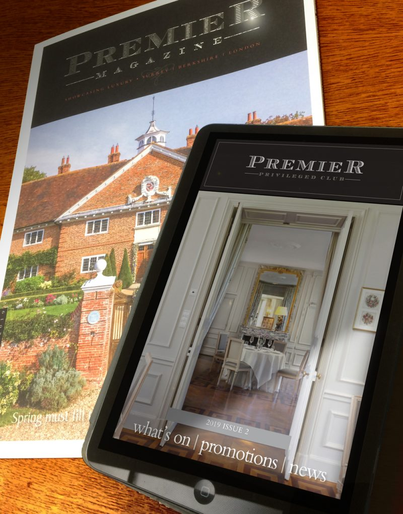 Premier Magazine Spring edition, plus the digital e-newsletter for February-March