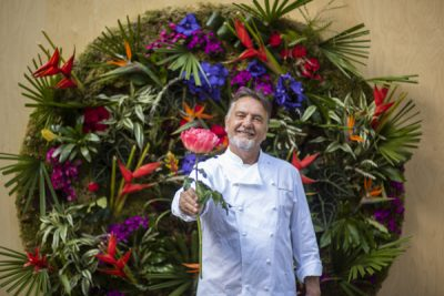 Raymond Blanc's renowned secret garden restaurant - Jardin Blanc