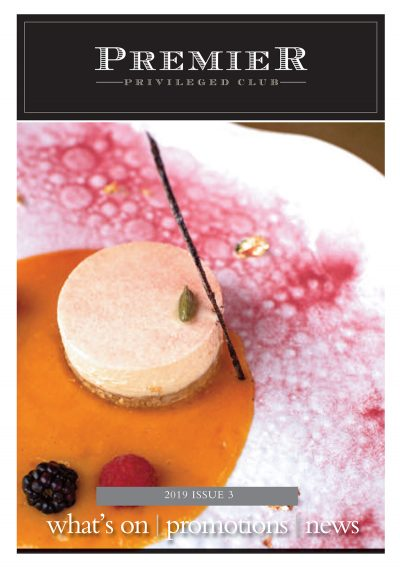 Premier Magazine's latest monthly e-newsletter features the colourful cuisine of Mayfair-based Indian Accent Restaurant