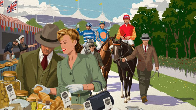 Goodwood's May Festival combines artisan cuisine & exciting racing