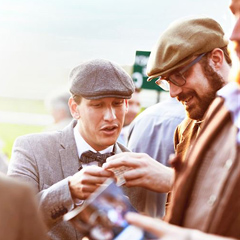 Randox Health Gentleman's Day at Sandown Park. A chance to dress up for the part!