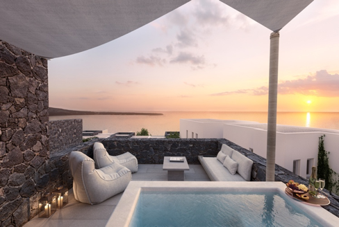Idyllic Suites at Sunset