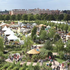 The RHS Hampton Court Flower Show