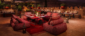 Authentic Moroccan Dining at Kasbah Tamadot