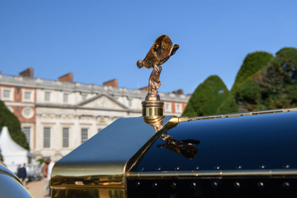 Rolls-Royce at Hampton Court