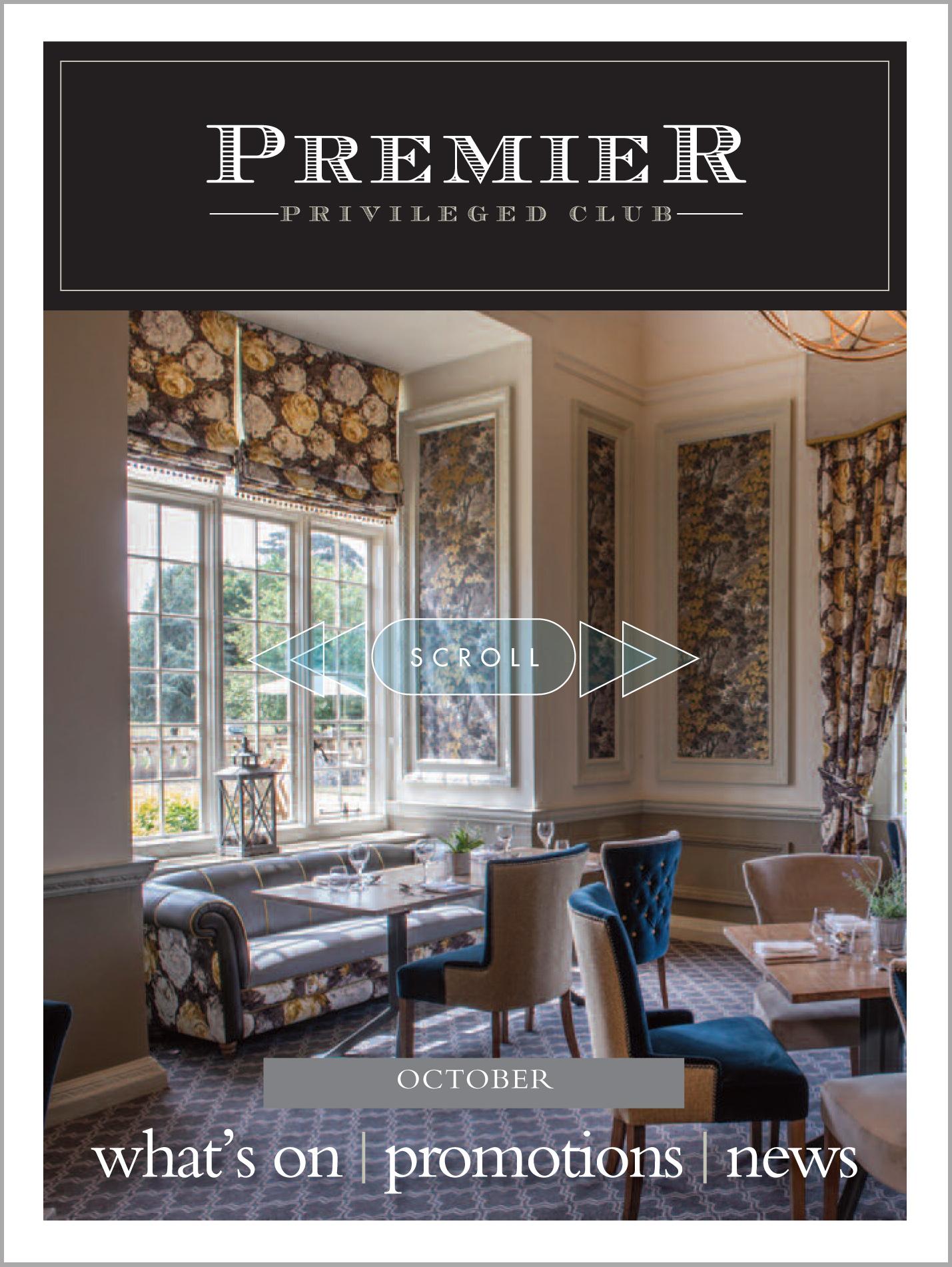 Premier Magazine's October e-newsletter is here
