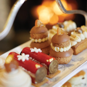 Festive Afternoon Tea at Coworth Park