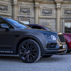 A brace of the Bentley Bentayga Huntsman at Cliveden House