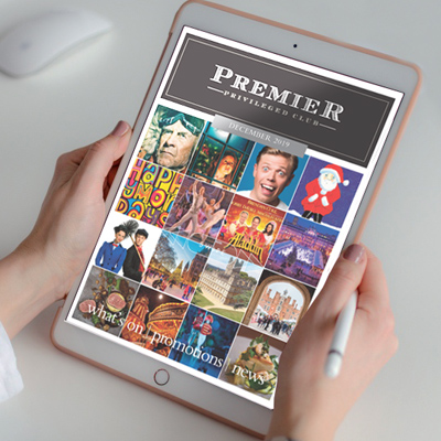 Premier magazine also produce this monthly e-newsletter designed to keep readers in touch with what's on in-between editions of the printed magazine
