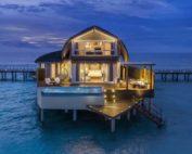 An Overwater Villa at JW Marriott Maldives Resort