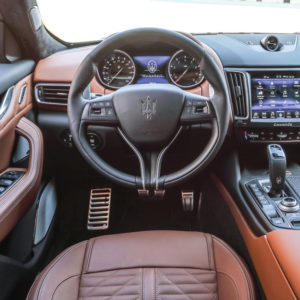 "The dashboard is designed around the 8.4"" Maserati Touch Control Plus (MTC+) display."