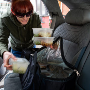 Meals on 22 inch Wheels service helps the vulnerable