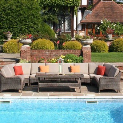 The Marlow modular sofa set by Bridgman