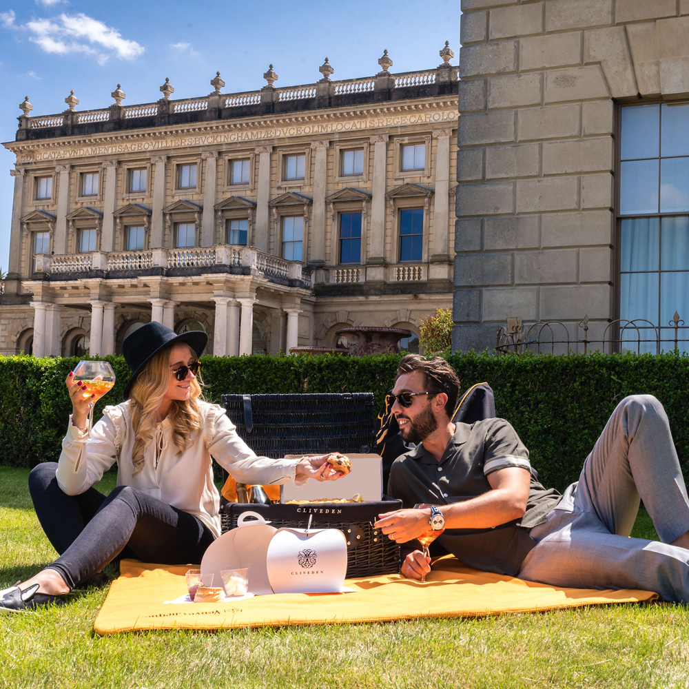 Cliveden House picnic in partnership with Veuve Clicquot