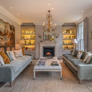The elegant interio of Holford House by Richstone Properties