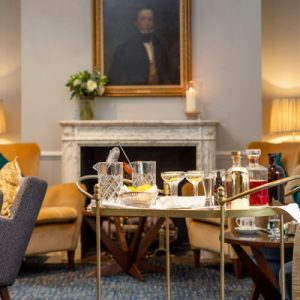A quiet corner of the Drawing Room at Dukes in Mayfair