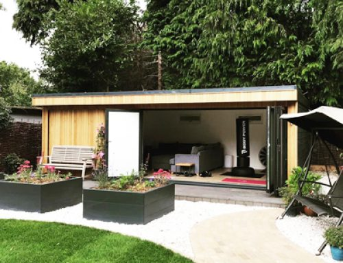 GARDENS: Outside is a blank canvas, just ready to incorporate that special extra living space