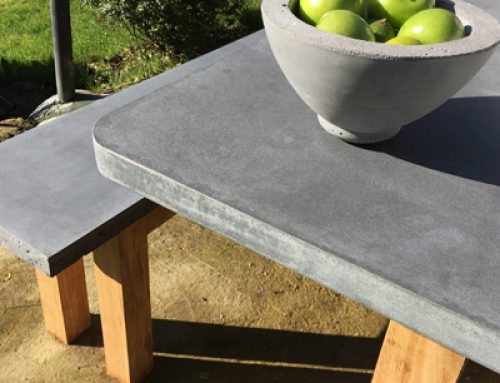 GARDENS: Consider concrete.. ultimately durable with a unique, contemporary style of its own