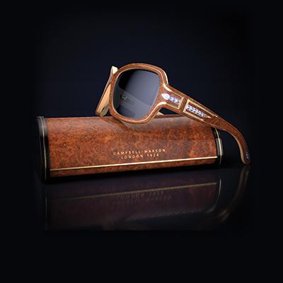Uniquely tailored luxury eyewear