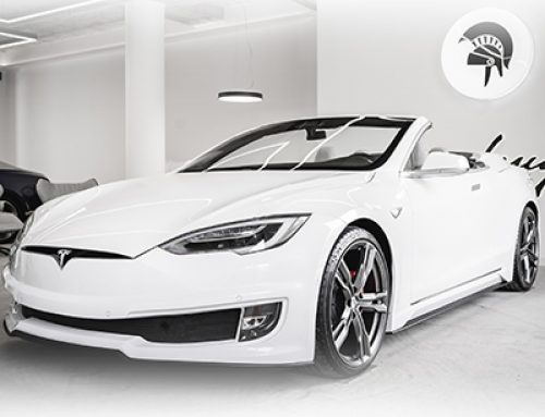 MOTORING: Luxury Italian coachbuilder creates a bespoke Tesla Model S Convertible