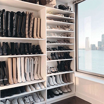An organised wardrobe - New year resolution