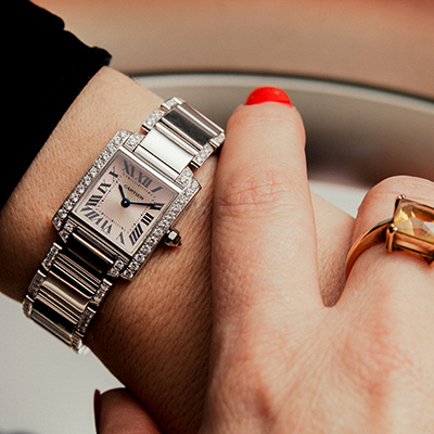 A Ladies Cartier offered by Maunder Watches