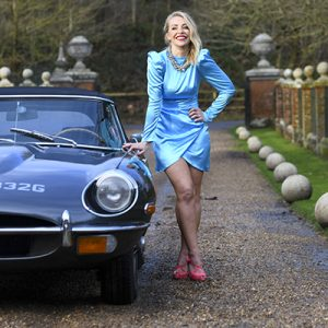 Laura Hamilton and RNG Classic's Series II E-Type