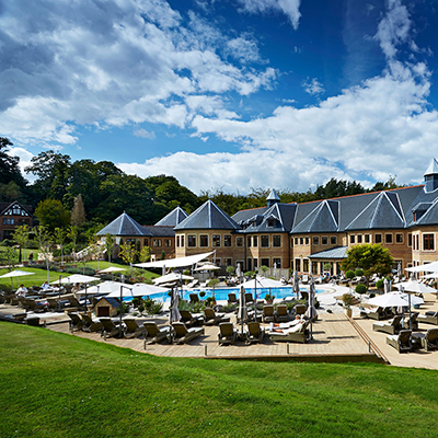Pennyhill Park spa - as featured in our spring 20920 edition