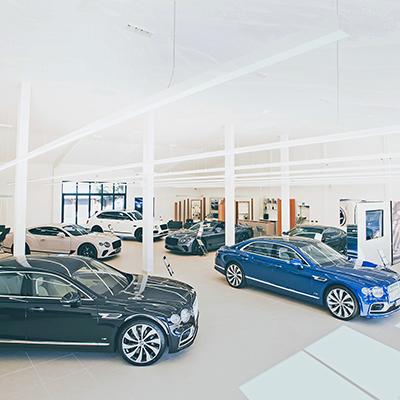 H.R. Owen Bentley Surrey showroom