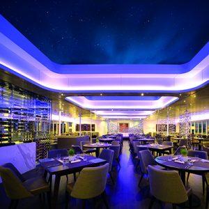Sky restaurant on the Sunborn