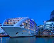 Sunborn luxury yacht hotel