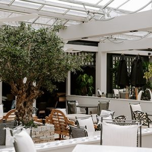 Seasons offers all weather alfresco dining